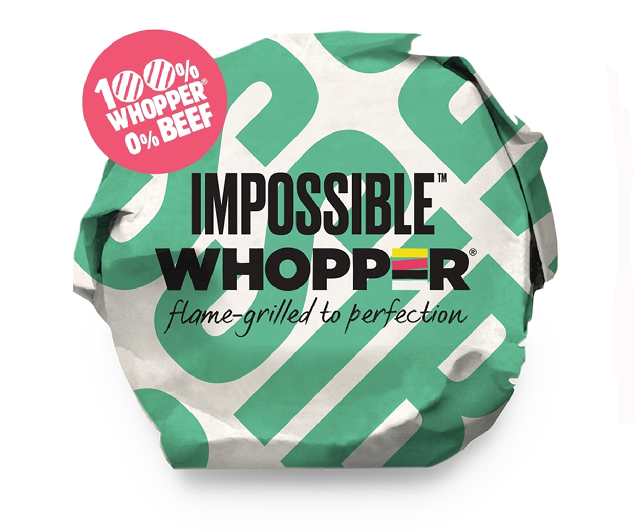 汉堡王 Impossible Whopper