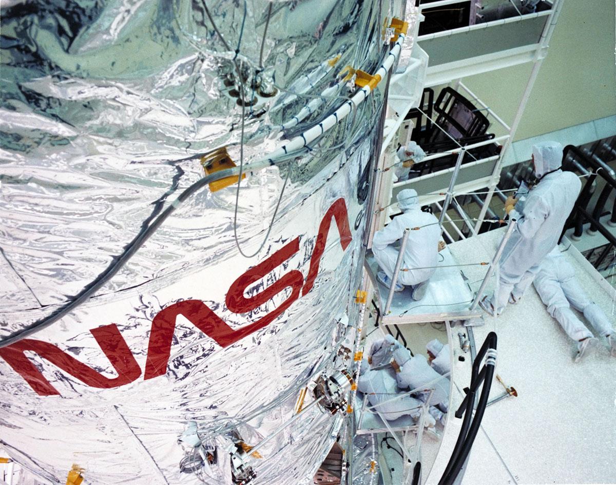 NASA logo in use