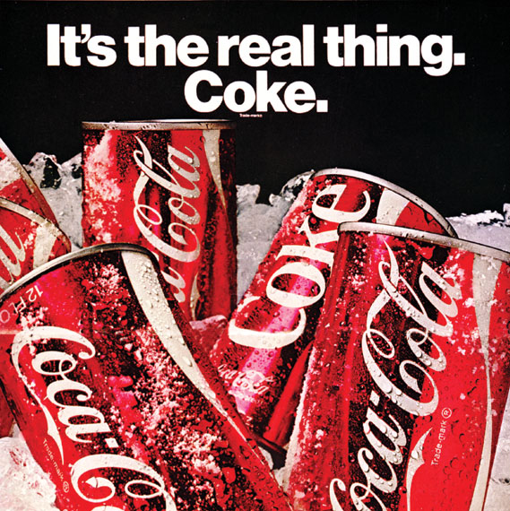 The History Of Coca Cola S It S The Real Thing Slogan Creative Review