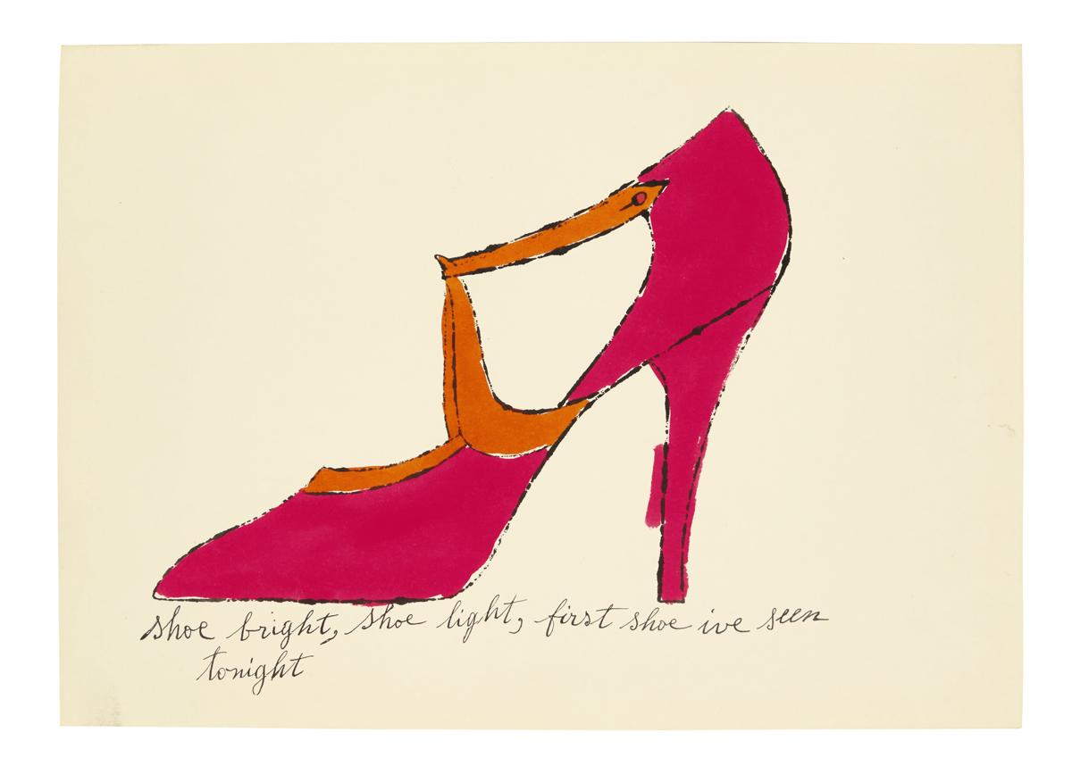 Shoe bright, shoe light, first shoe ive seen tonight
