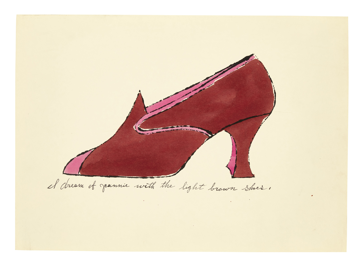 I dream of jeannie with the light brown shoes