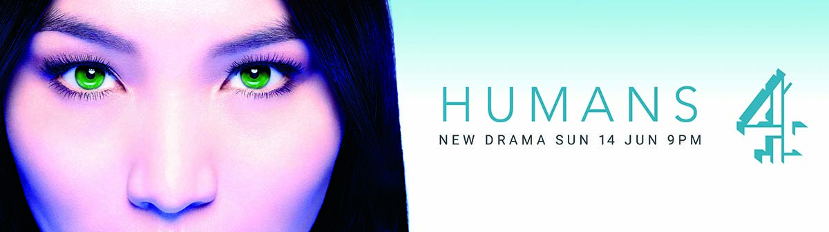 Poster for television show Humans