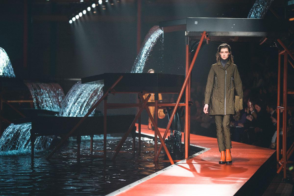 Hunter Original AW15 show at London Fashion Week. Image: Dan Medhurst
