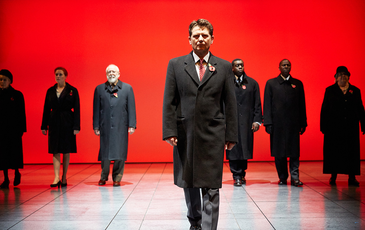 The Absence of War at Headlong Theatre, Rose Theatre and Sheffield Theatres. © Mark Douet