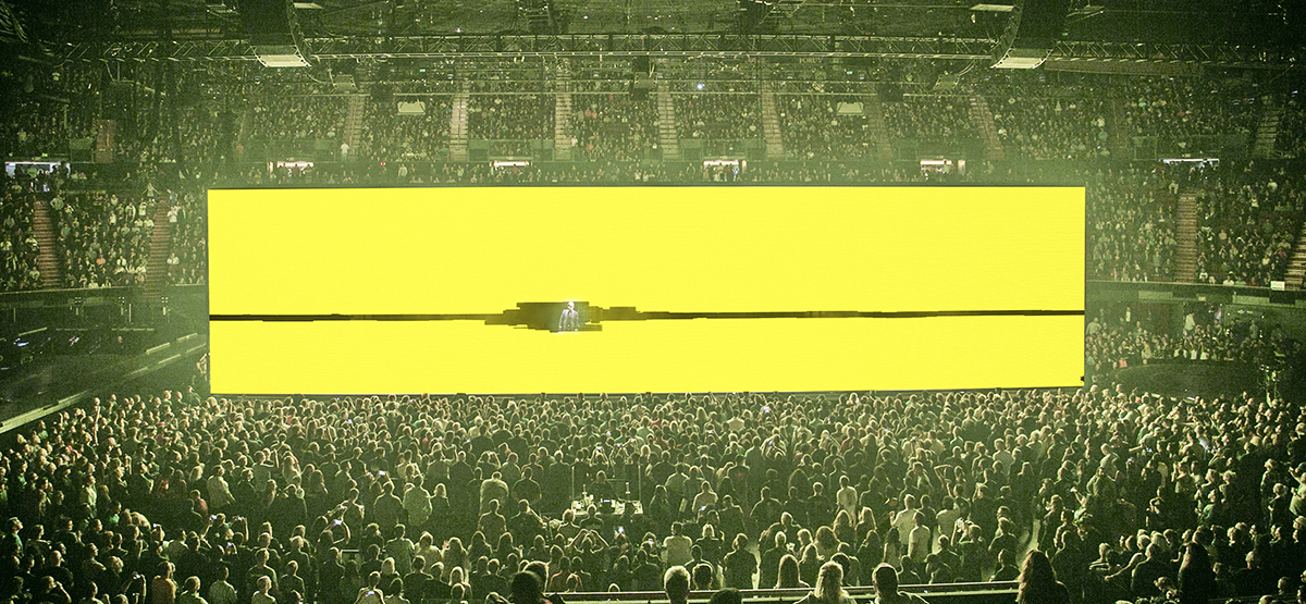 Set for a U2 concert designed by Devlin