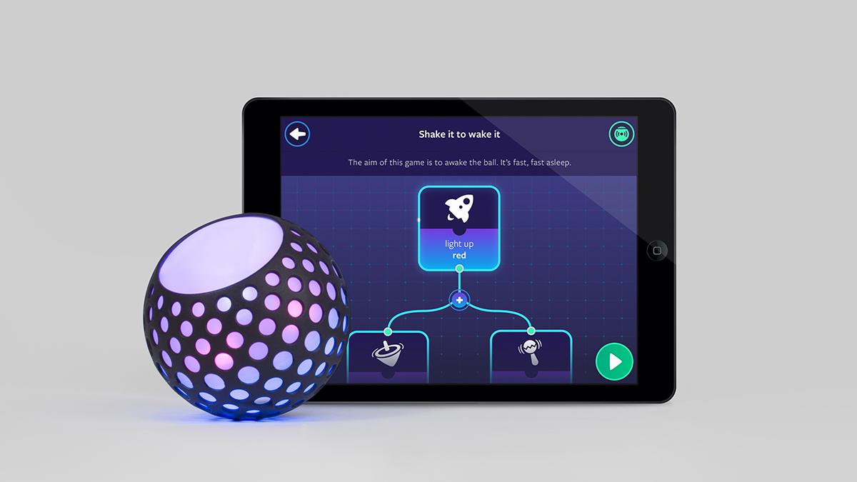 Hackaball with iPad