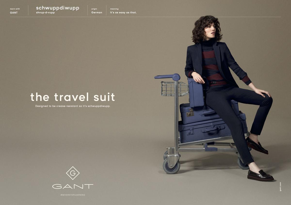 Gant poster ad
