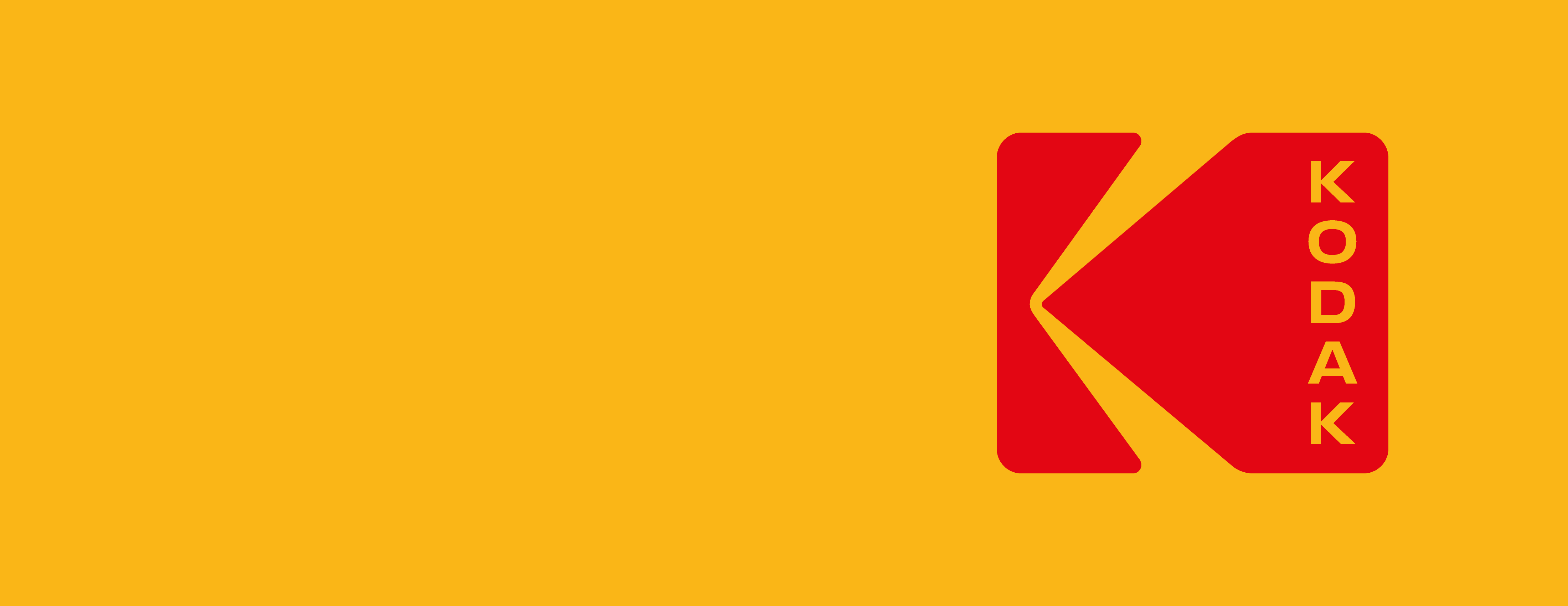 Kodak's new logo. The K device was created by Peter J. Oestreich in 1971. New York studio Work + Order has updated the design to include the brand name, arranged vertically in sans serif lettering