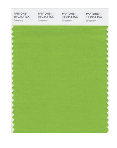 Greenery Pantone colour of the year 2017