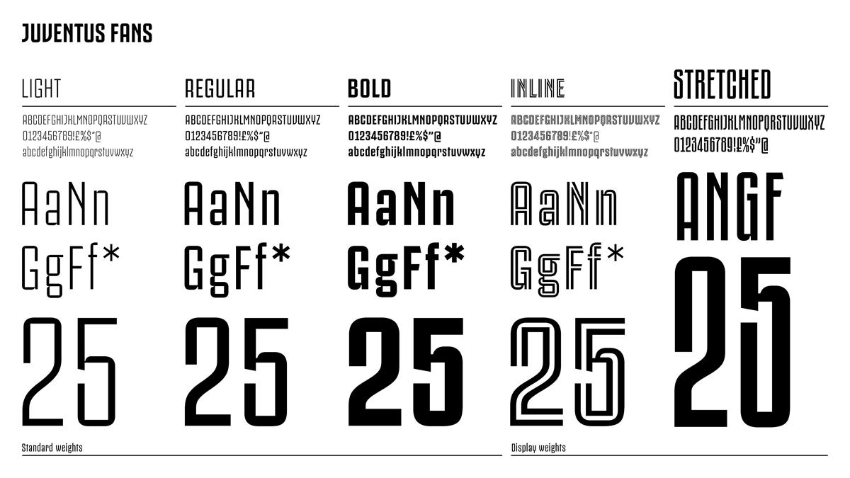 Juventus Fans typeface