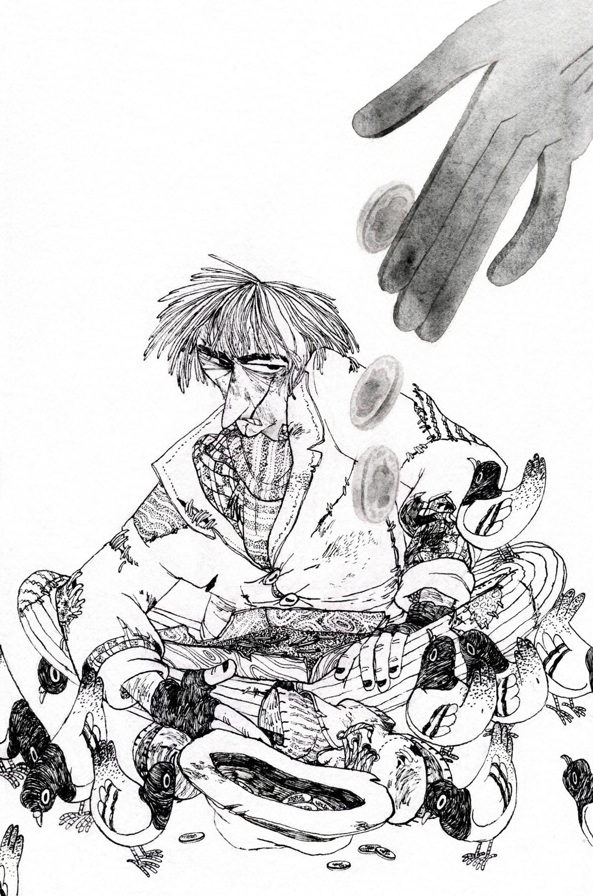 Zuzana Cupova's entry to the Book Illustration Competition. © Zuzana Cupova 2018