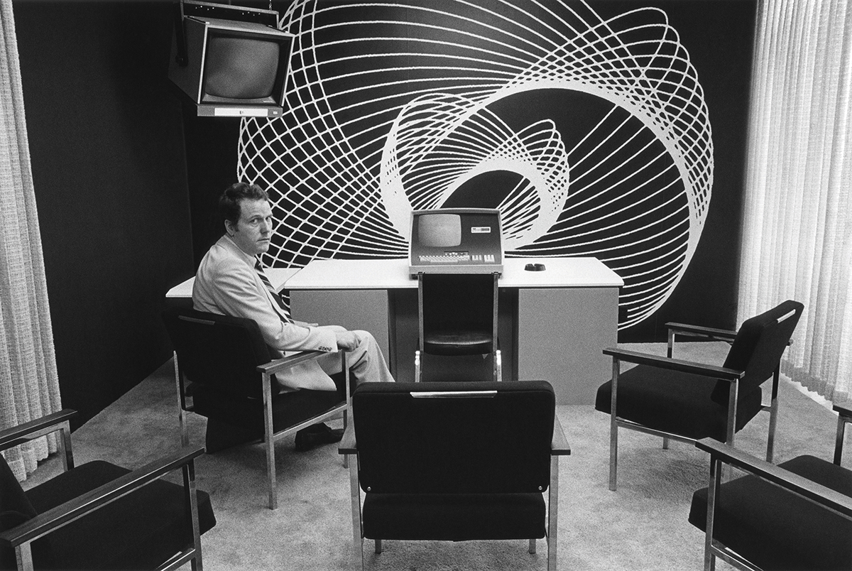 slick corporate offices of 1970s America