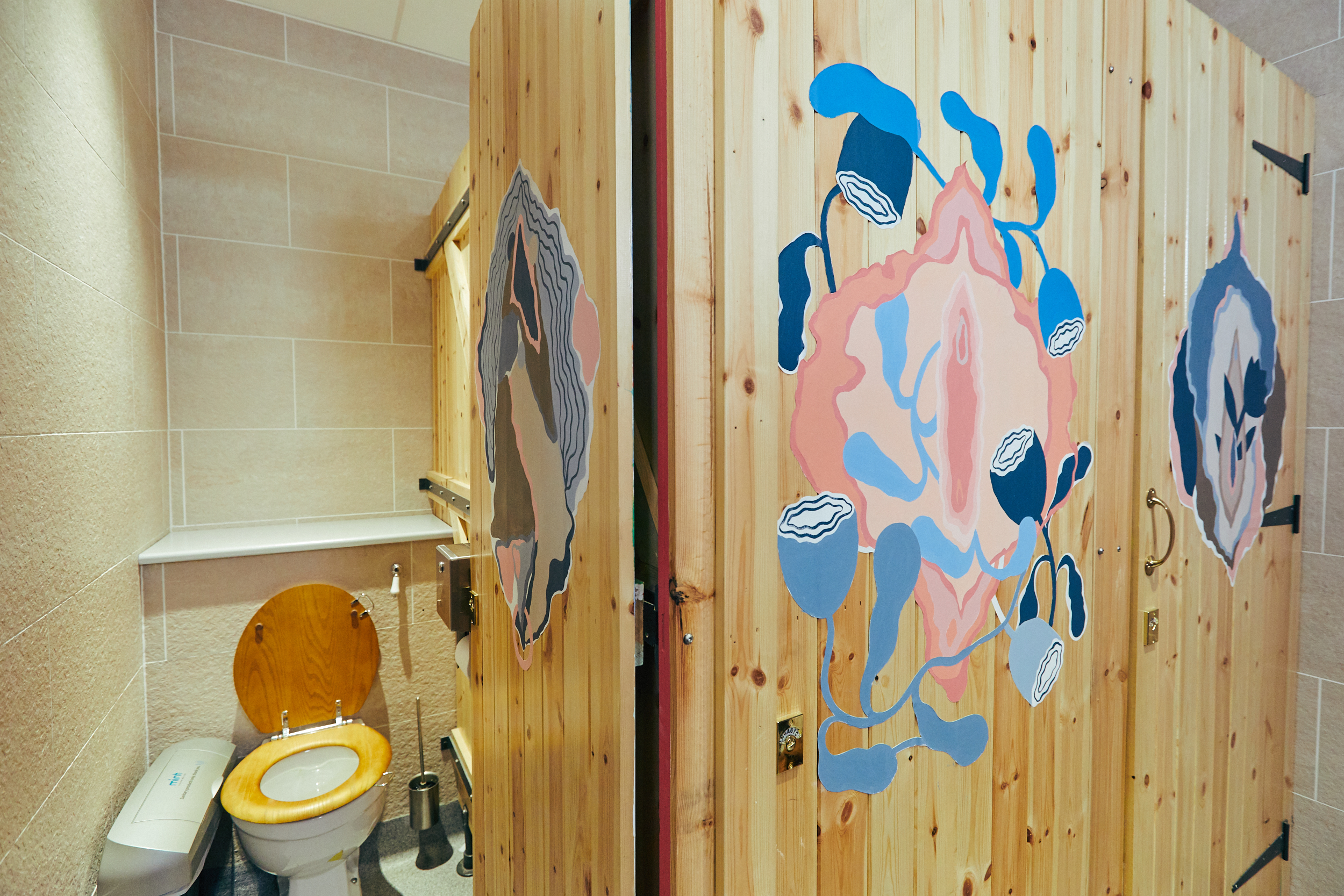 Bodyform and AMV BBDO Viva La Vulva Bathroom Takeover