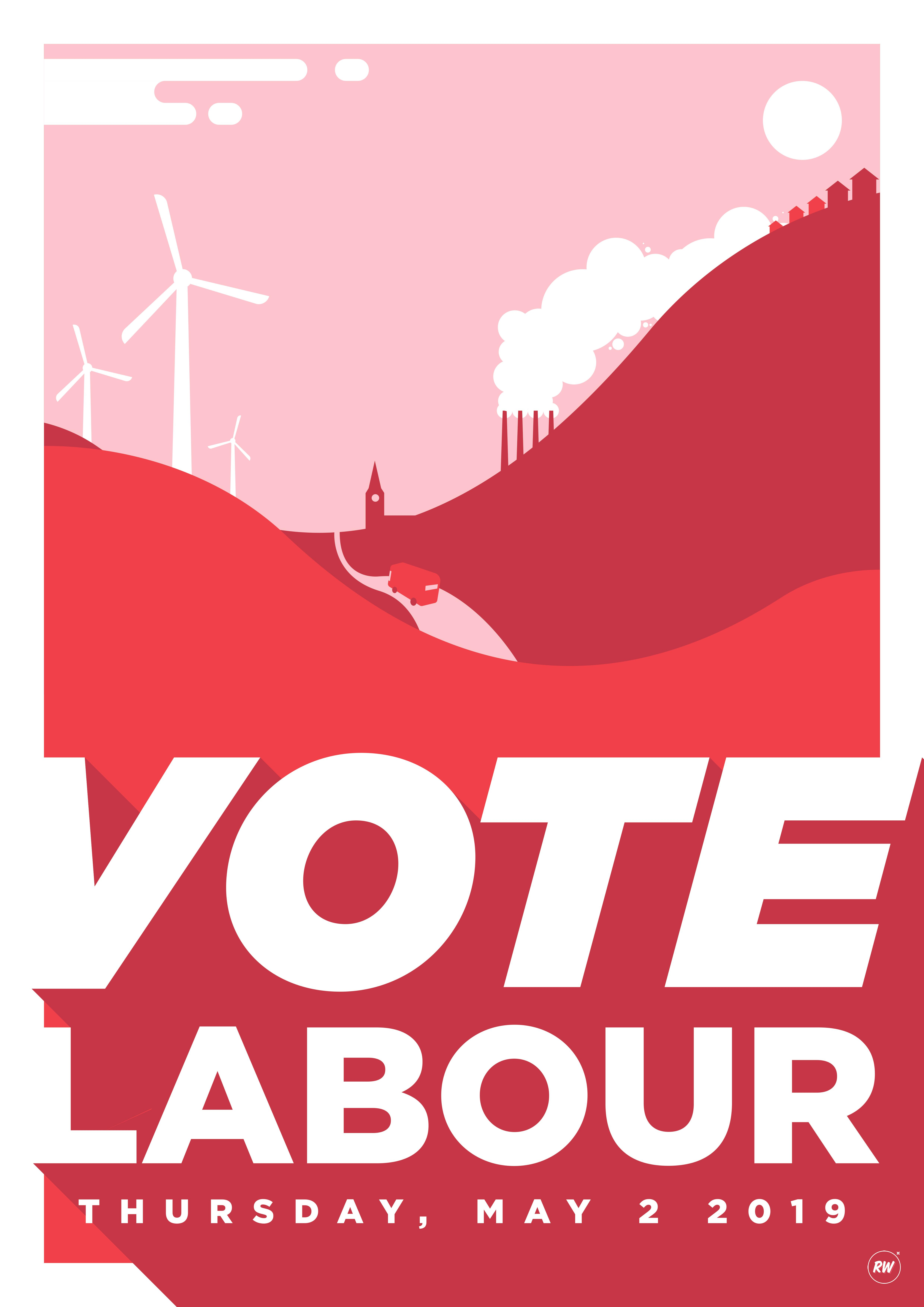 Robin Wilde for Labour Party Graphic Designers