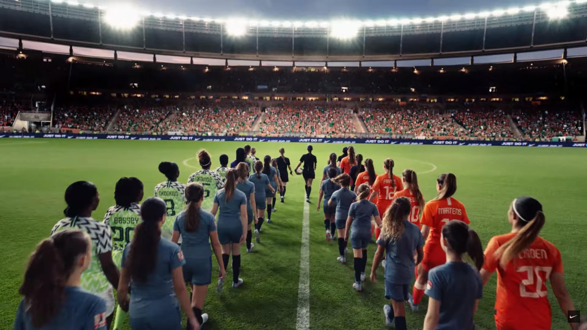 aceleración Espacio cibernético realeza  Nike invites women to Dream Further for new World Cup campaign