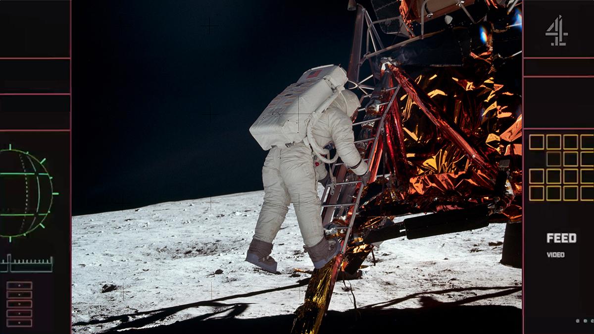 Channel 4 moon landings livestream