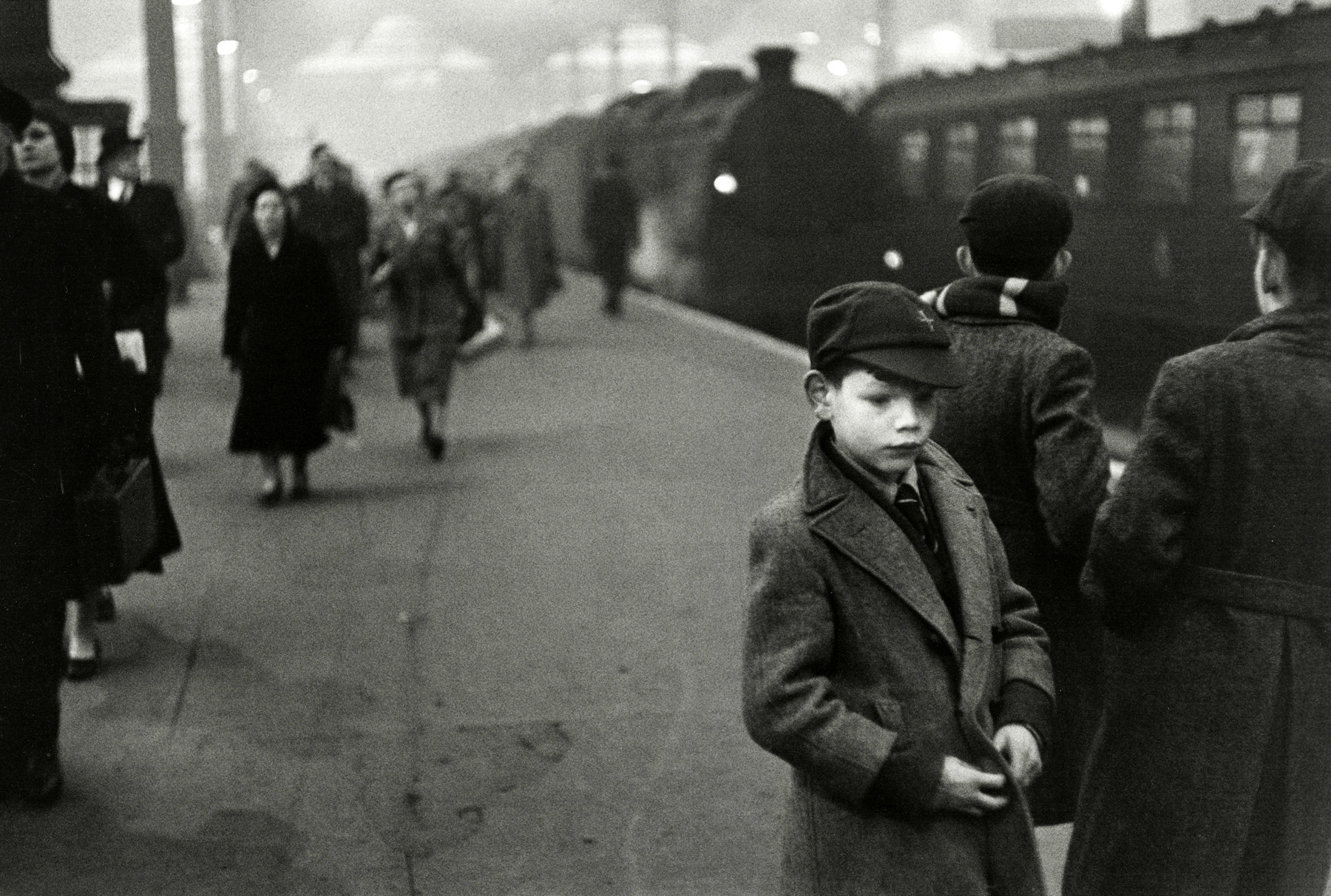 A portrait taken in London and included in a new Bruce Davidson exhibition