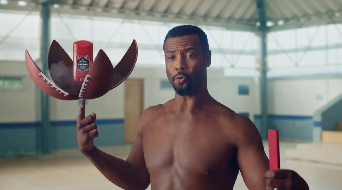 The Old Spice guy is back - and hes brought his son along too