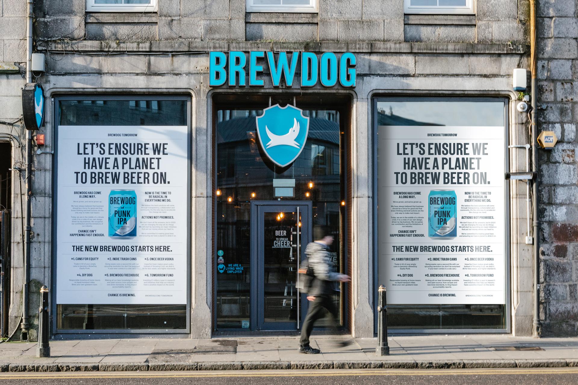 An image of the new BrewDog identity
