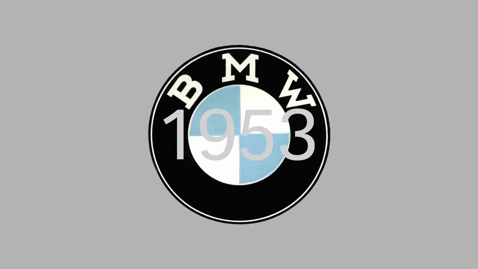 BMW 1953 design