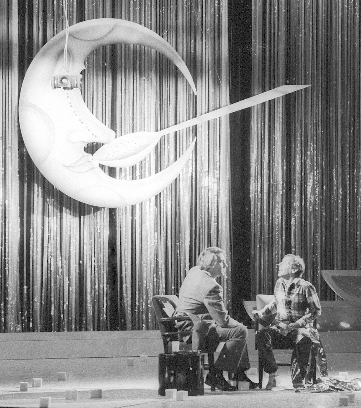 Image of Moon and Spoon at Studio 54