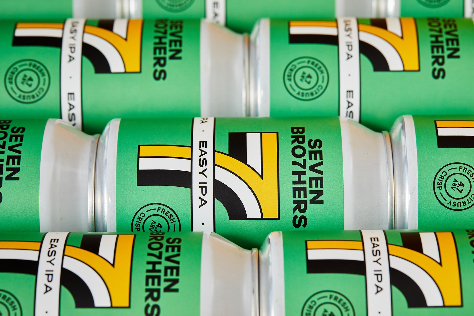 Seven Brothers beer brand update