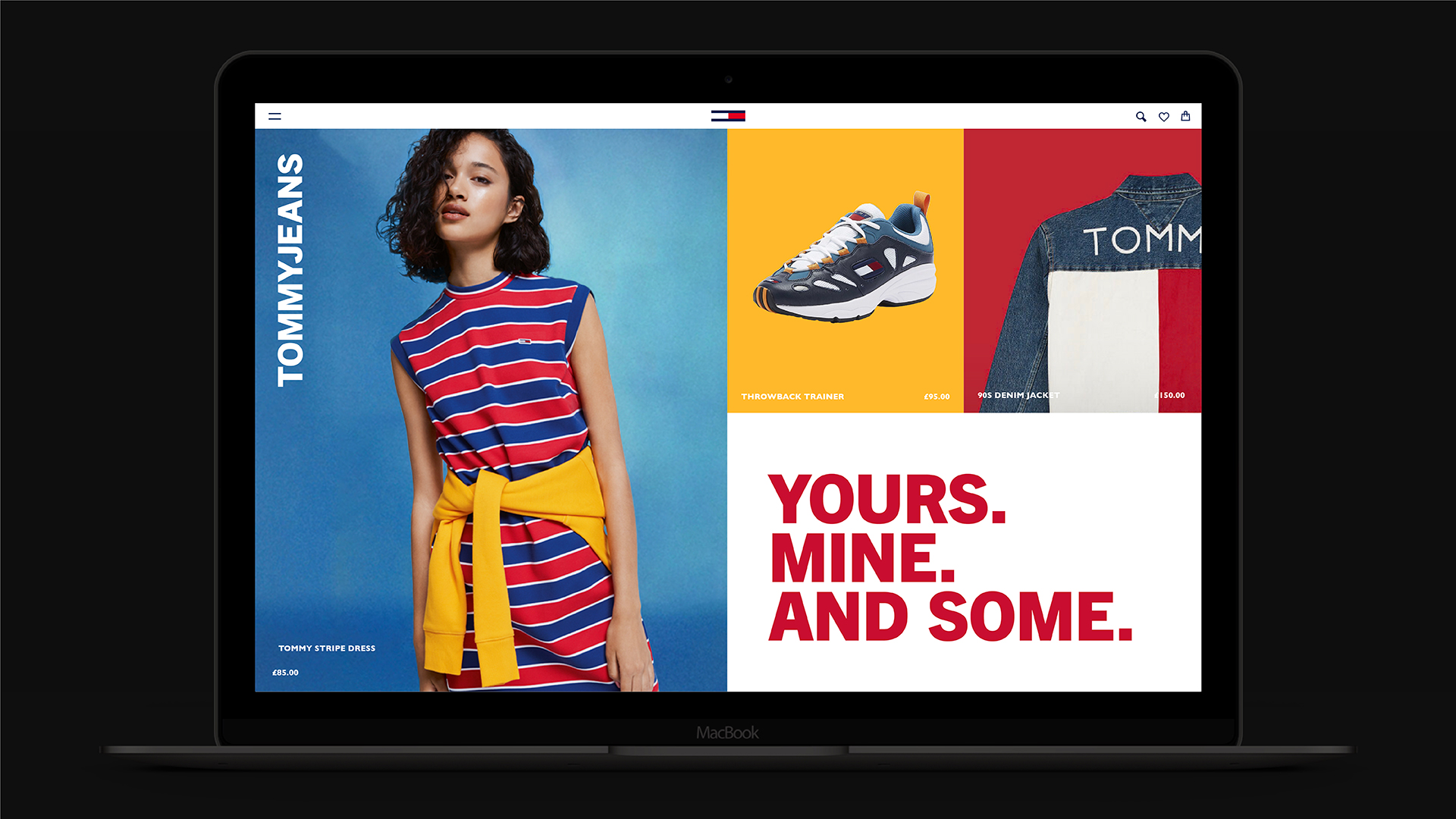 Tommy Jeans branding