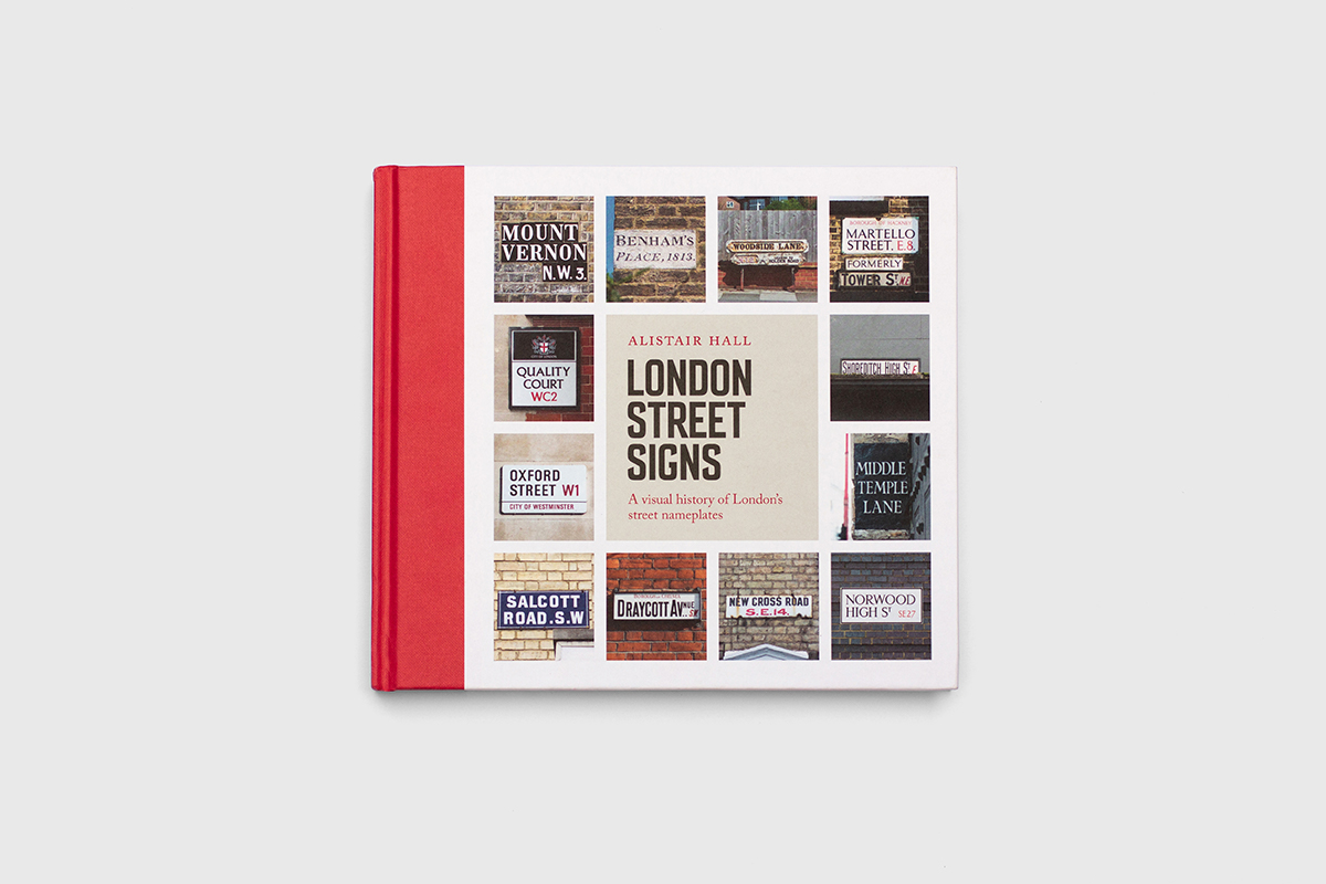 London Street Signs cover by Alistair Hall