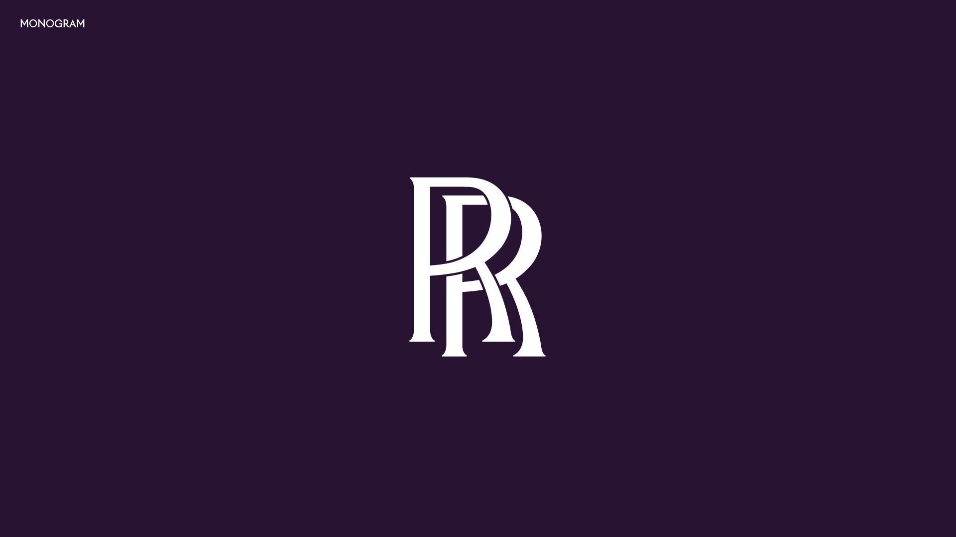 Rolls-Royce monogram