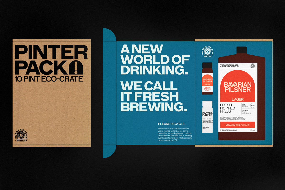 Branding for Greater Good Fresh Brewing