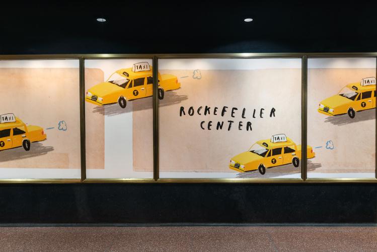 Oliver Jeffers Rockefeller Center