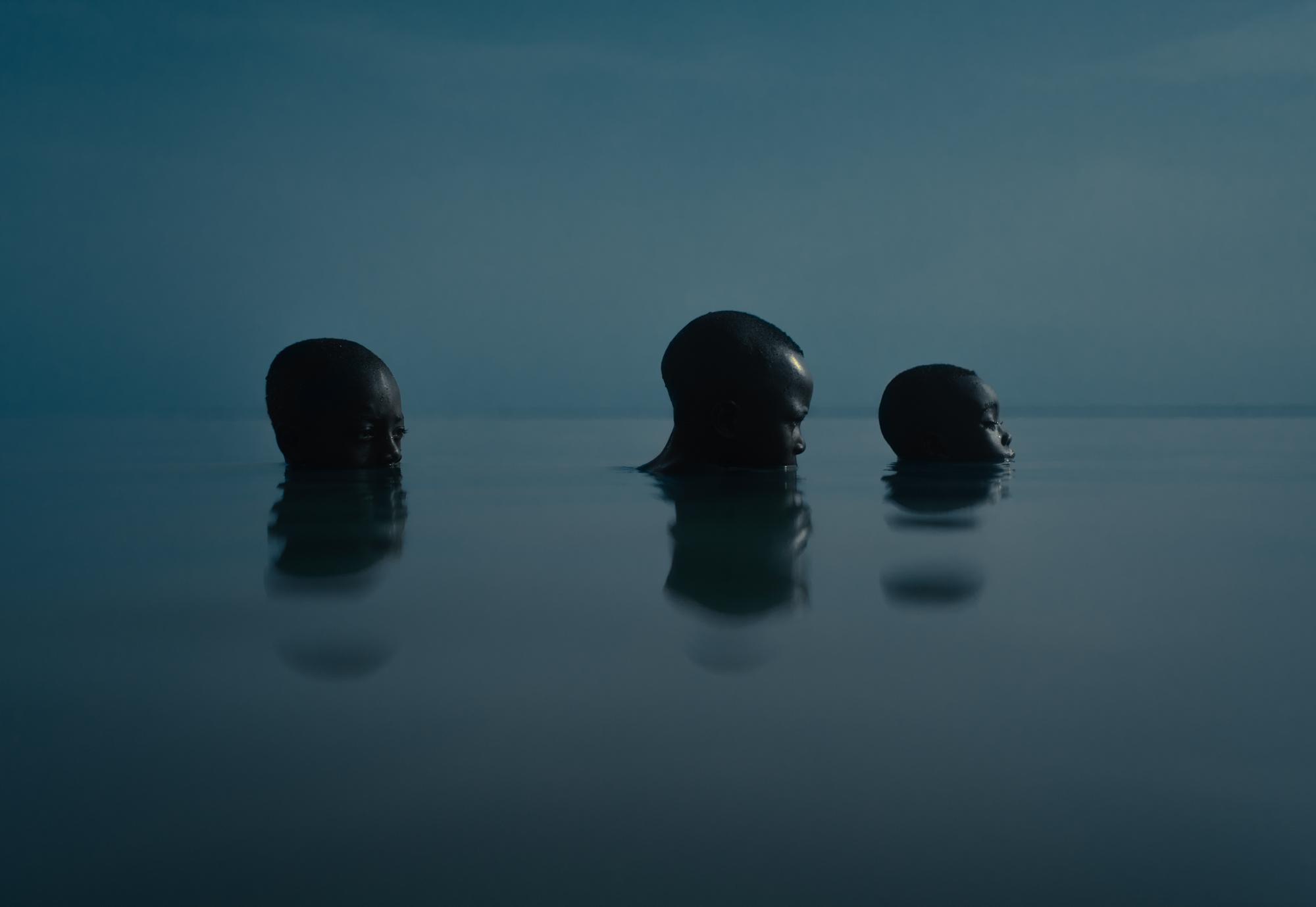 Skimming across the surface of Ghana's Lake Volta