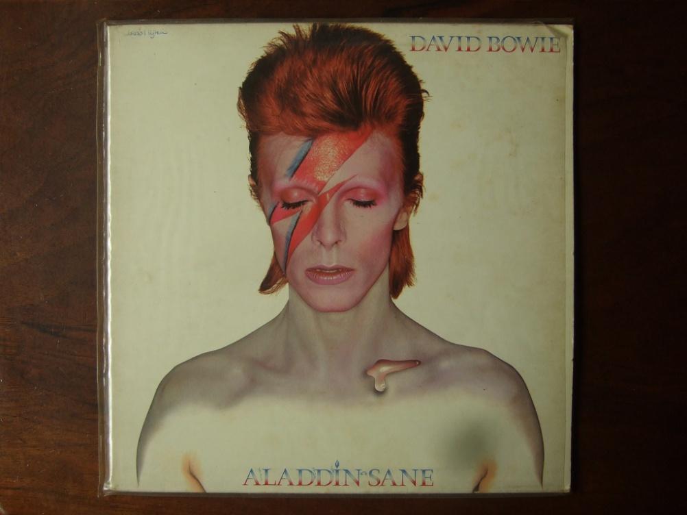 Aladdin Sane album cover, David Bowie