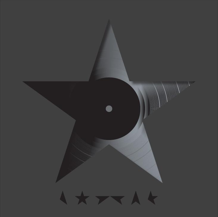 Darkstar, designed by Jonathan Barnbrook , David Bowie