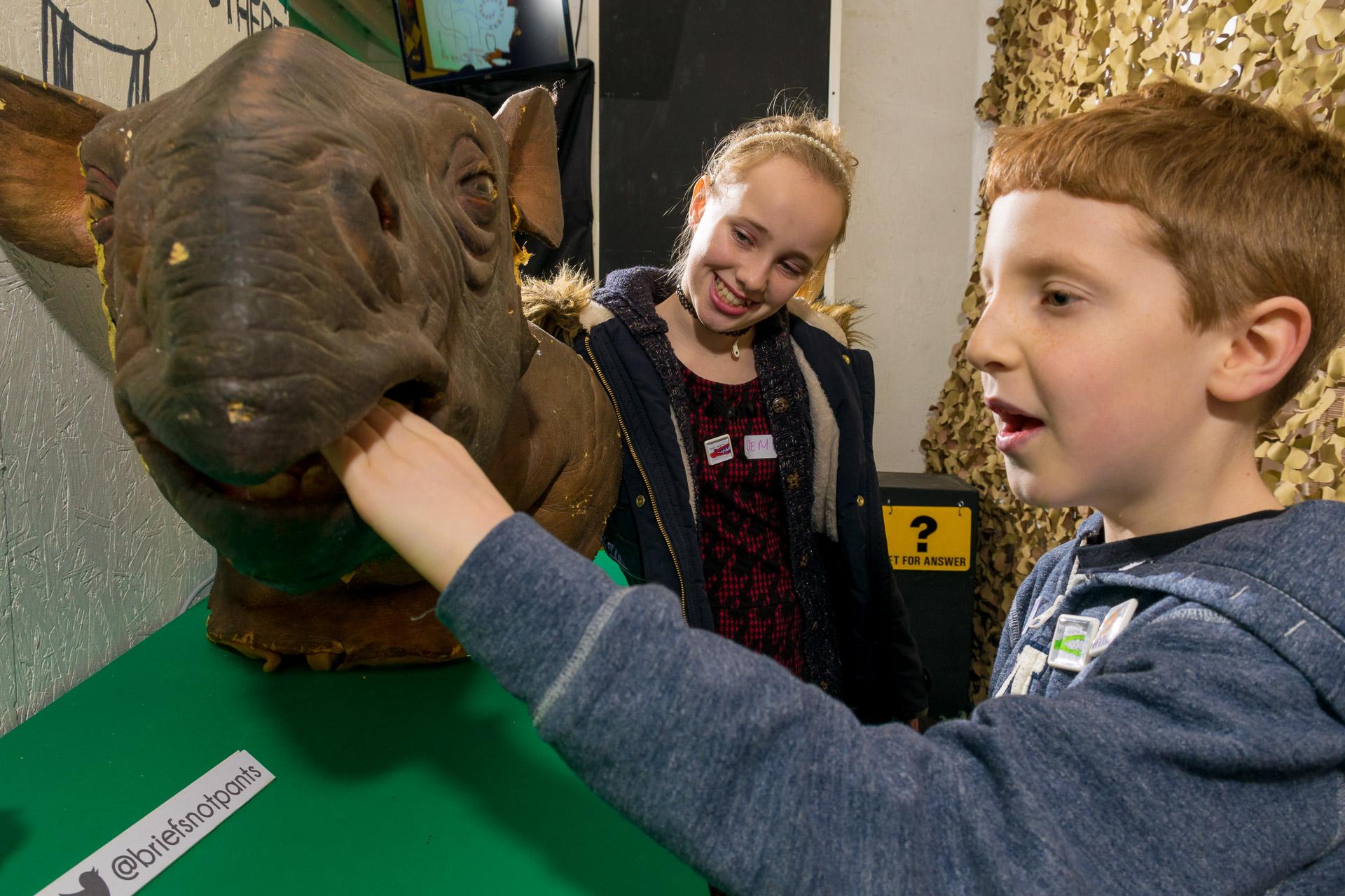 Creating the Dinostar exhibition