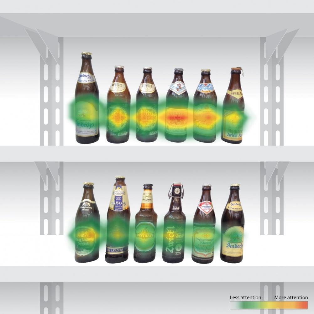 Beer heatmap