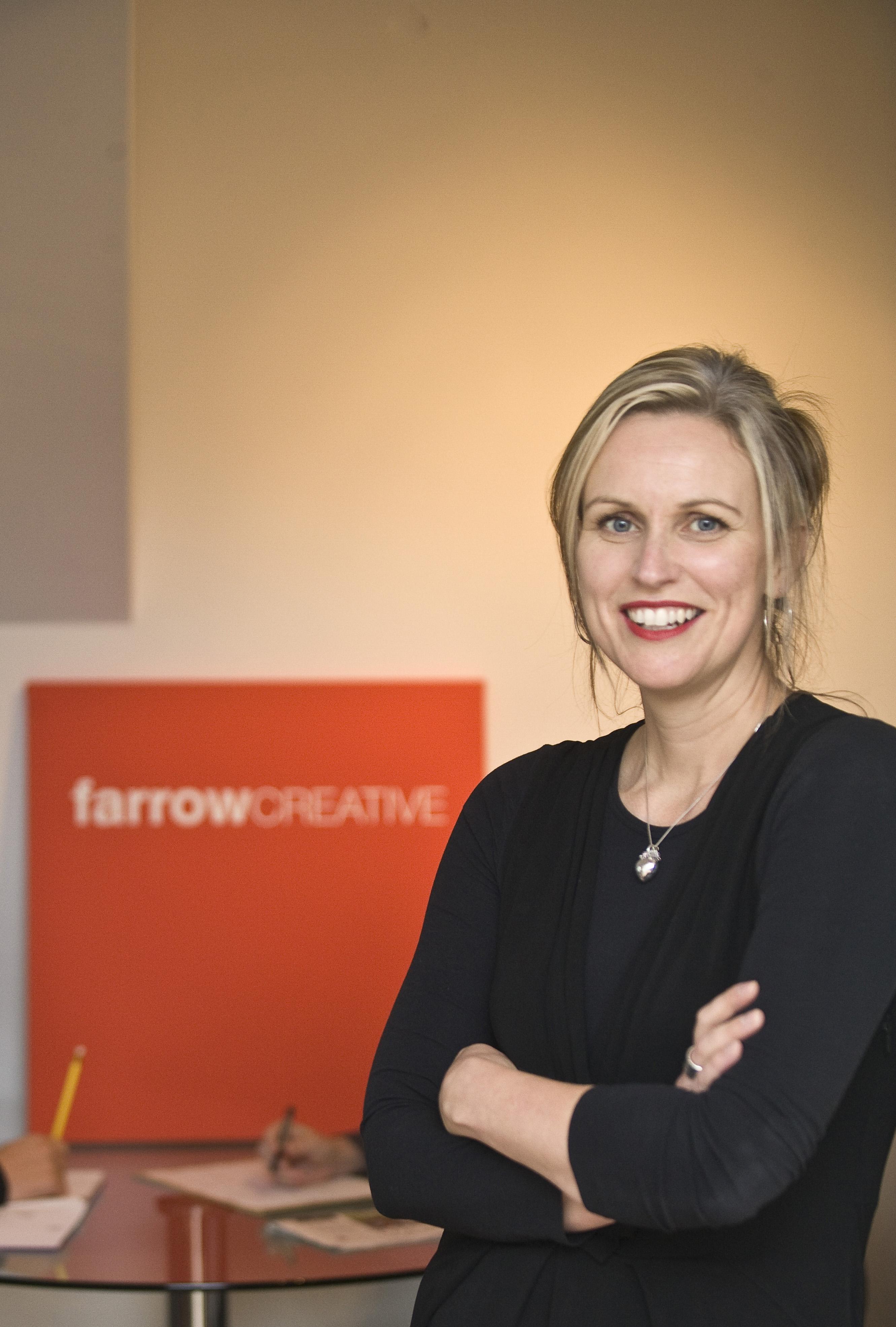 Sam Farrow, director, Farrow Creative