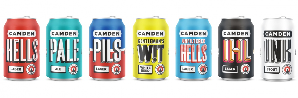 Camden Town Brewery Cans