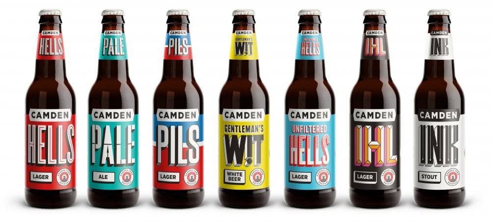 Camden Town Brewery Bottles