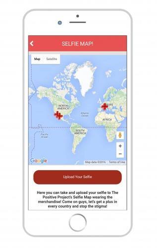 iPhone - Selfie Map Global
