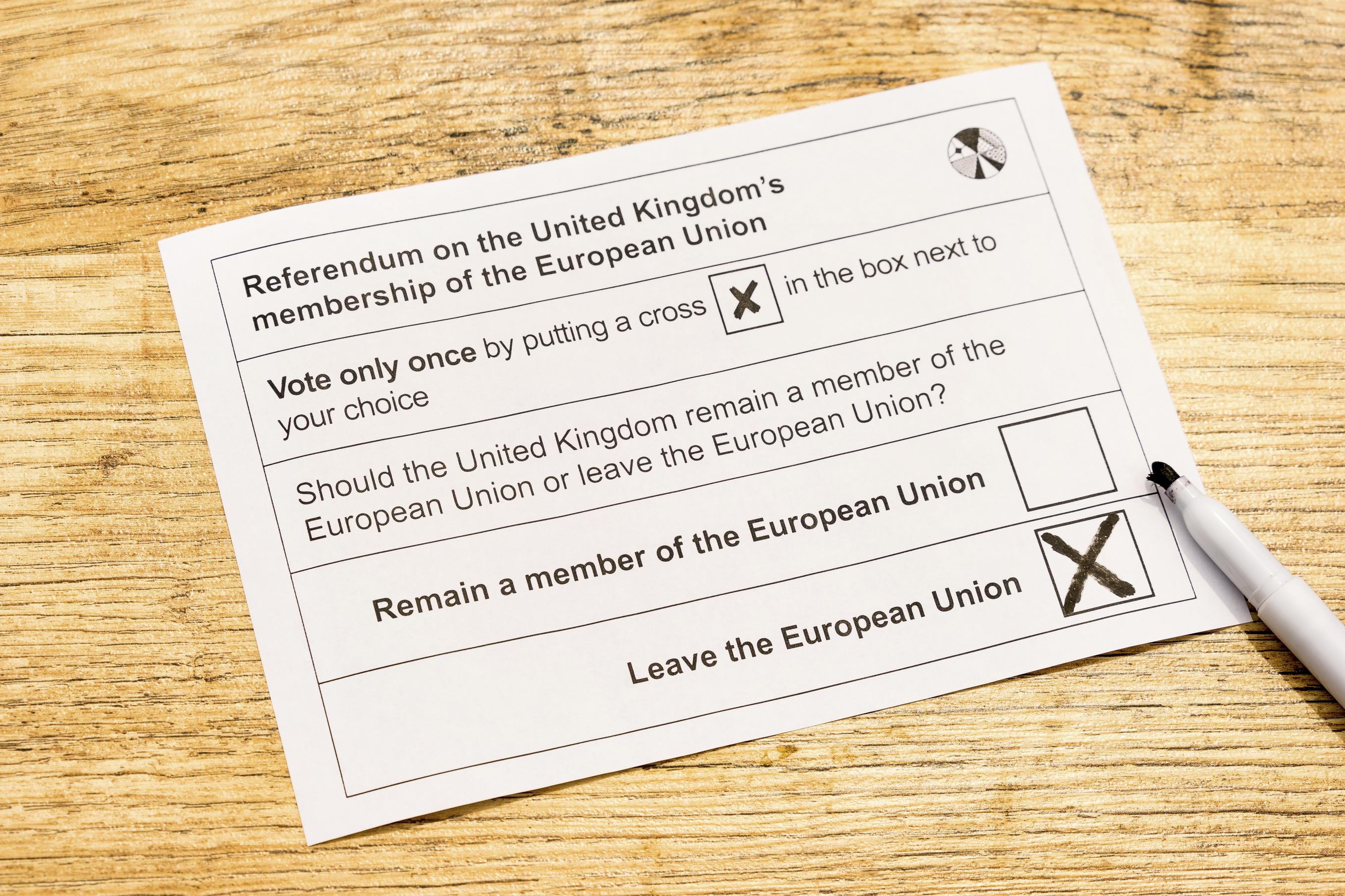 UK European Union referendum - Brexit