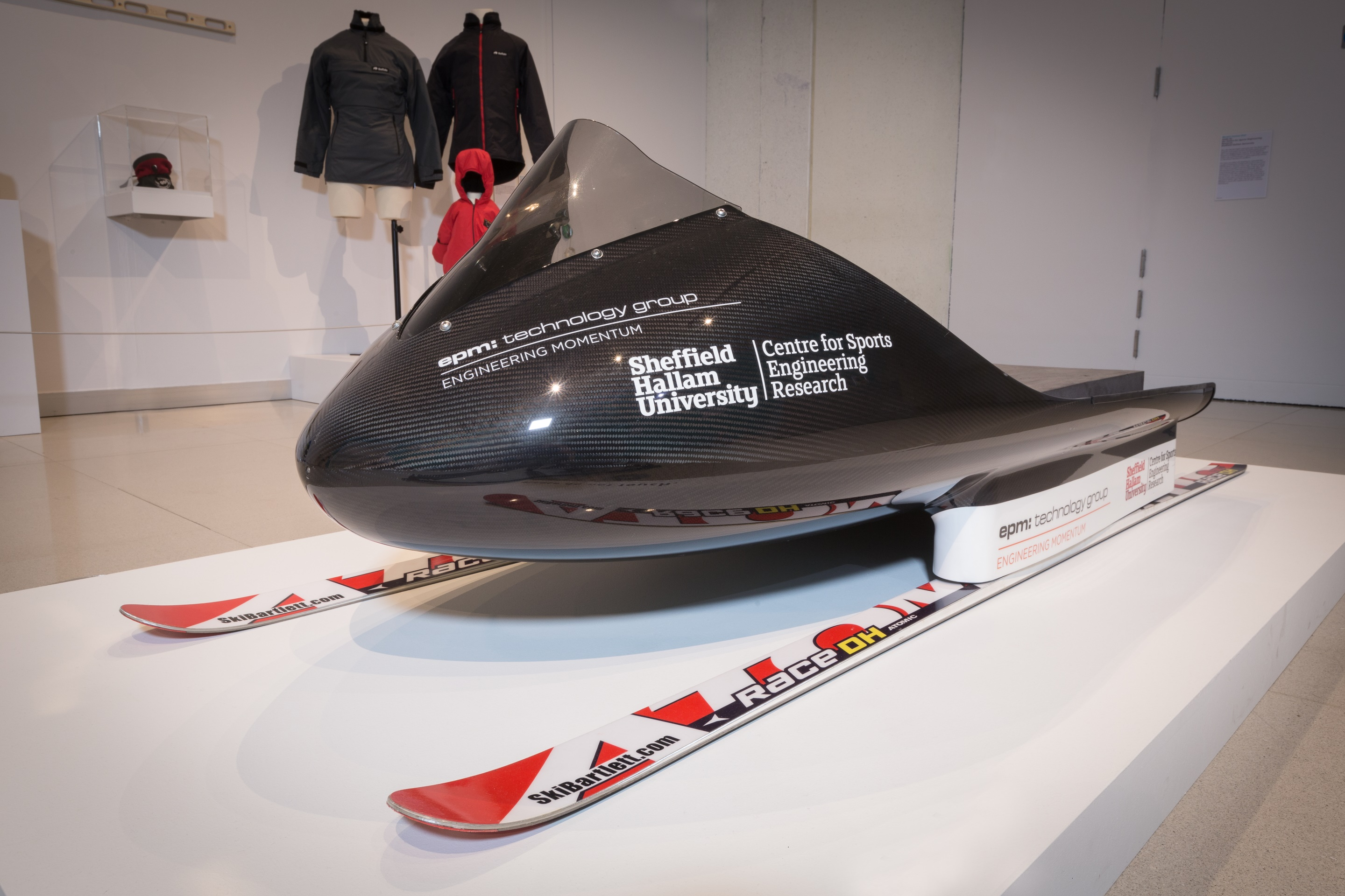 World's fastest sled made by Centre for Sports Engineering Research, Sheffield Hallam University