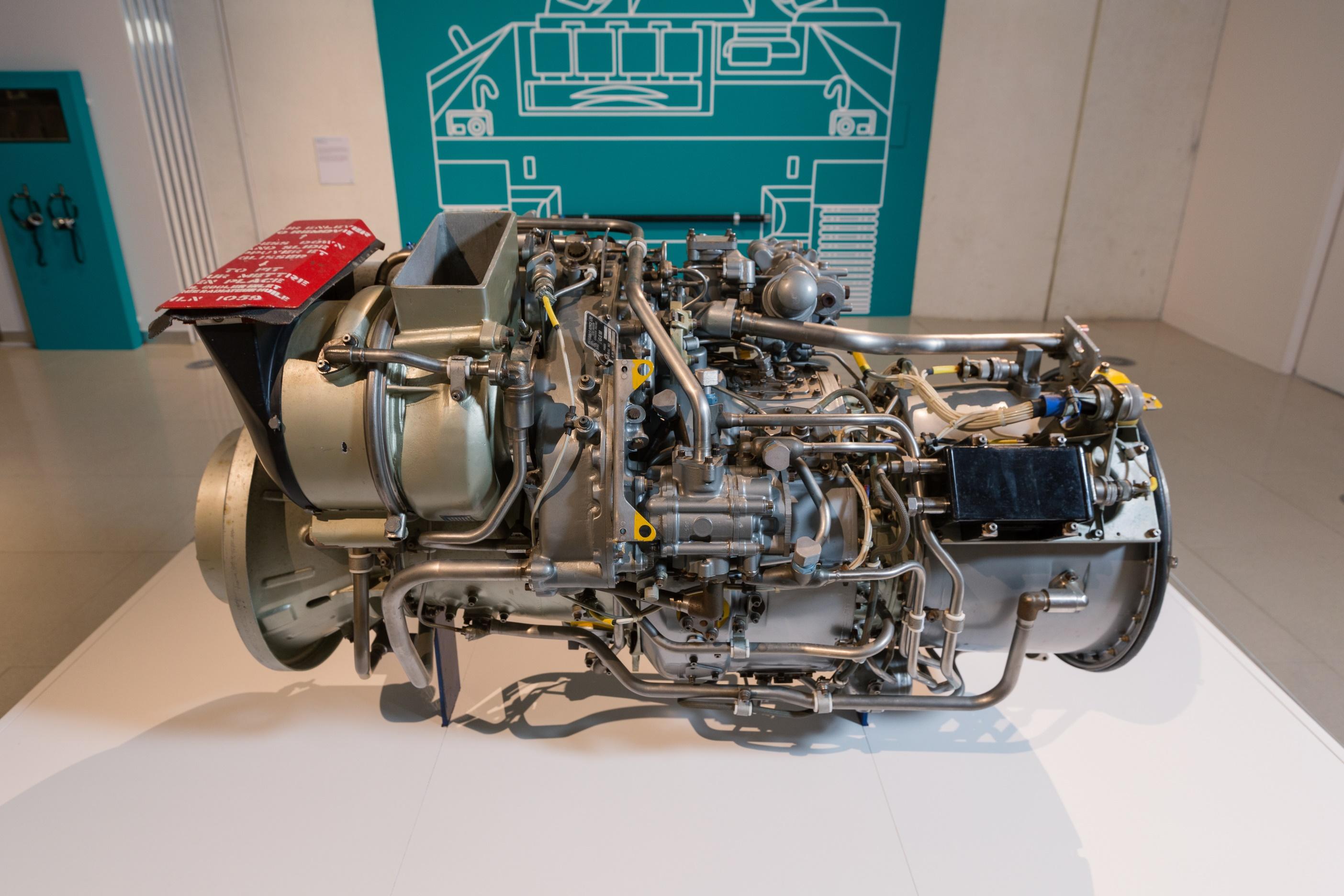 Gem Aero Rolls Royce Engine used in Boeing aircraft