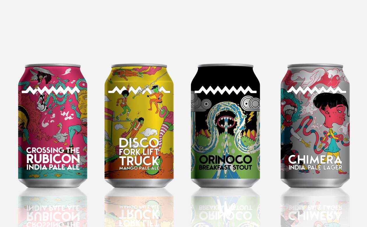 Drygate Cans 4 Up Front