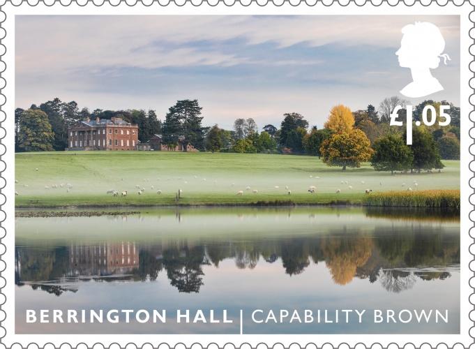 LG Berrington Hall stamp 400%