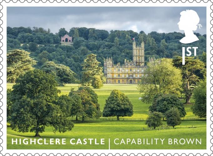 LG Highclere Castle stamp 400%