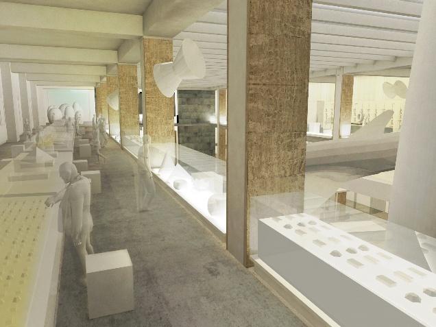 Wilkinson Eyre Architects, Science Museum Medicine Galleries render, 2014