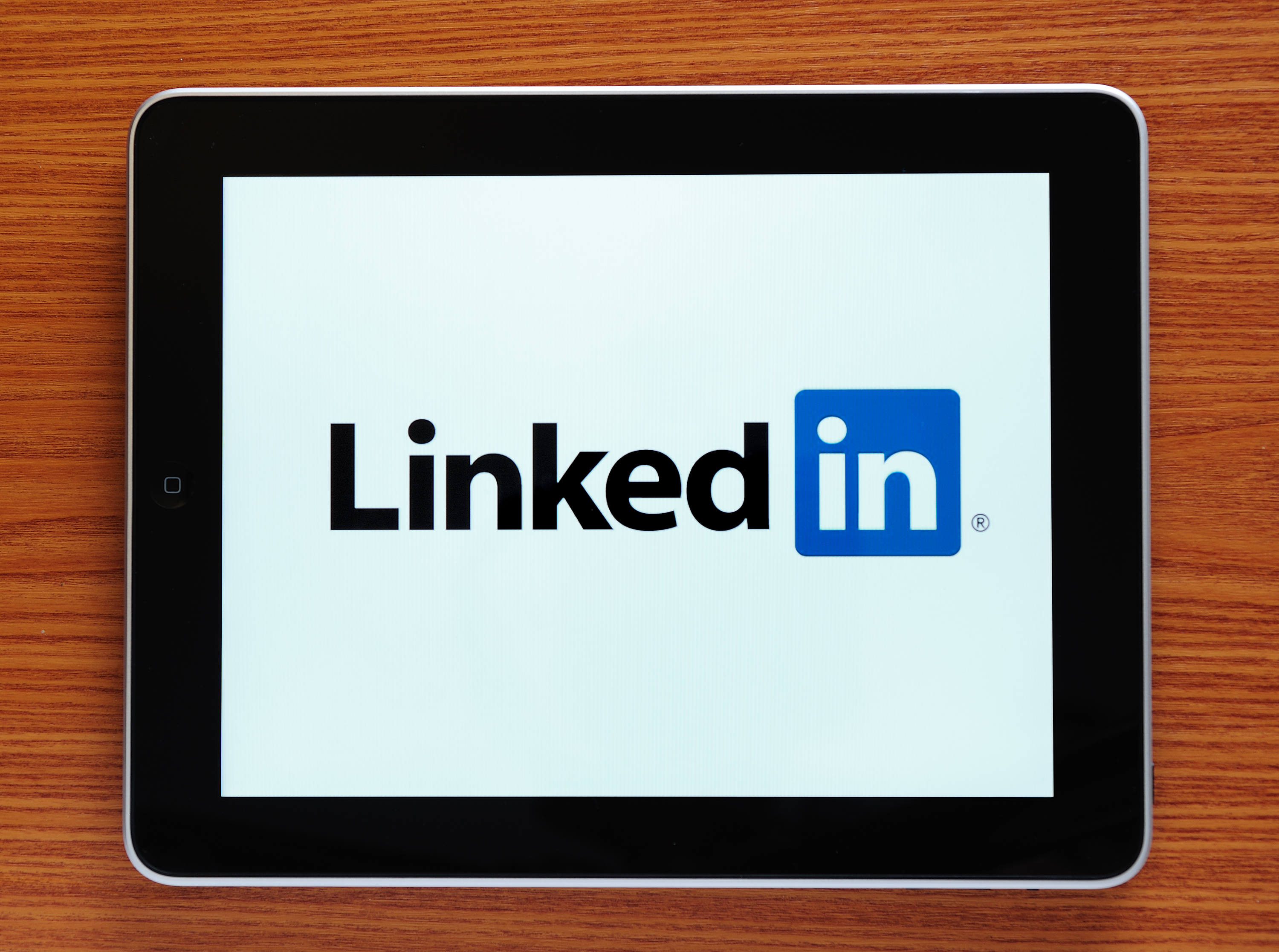 Astanbul, Turkey - October 30, 2011: Apple iPad displaying Linkedin logo. LinkedIn is a business-related social networking site The iPad, the digital tablet with multi touch screen produced by Apple Computer, Inc.