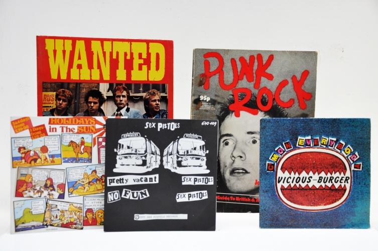 Sex Pistols album covers, by Jamie Reid