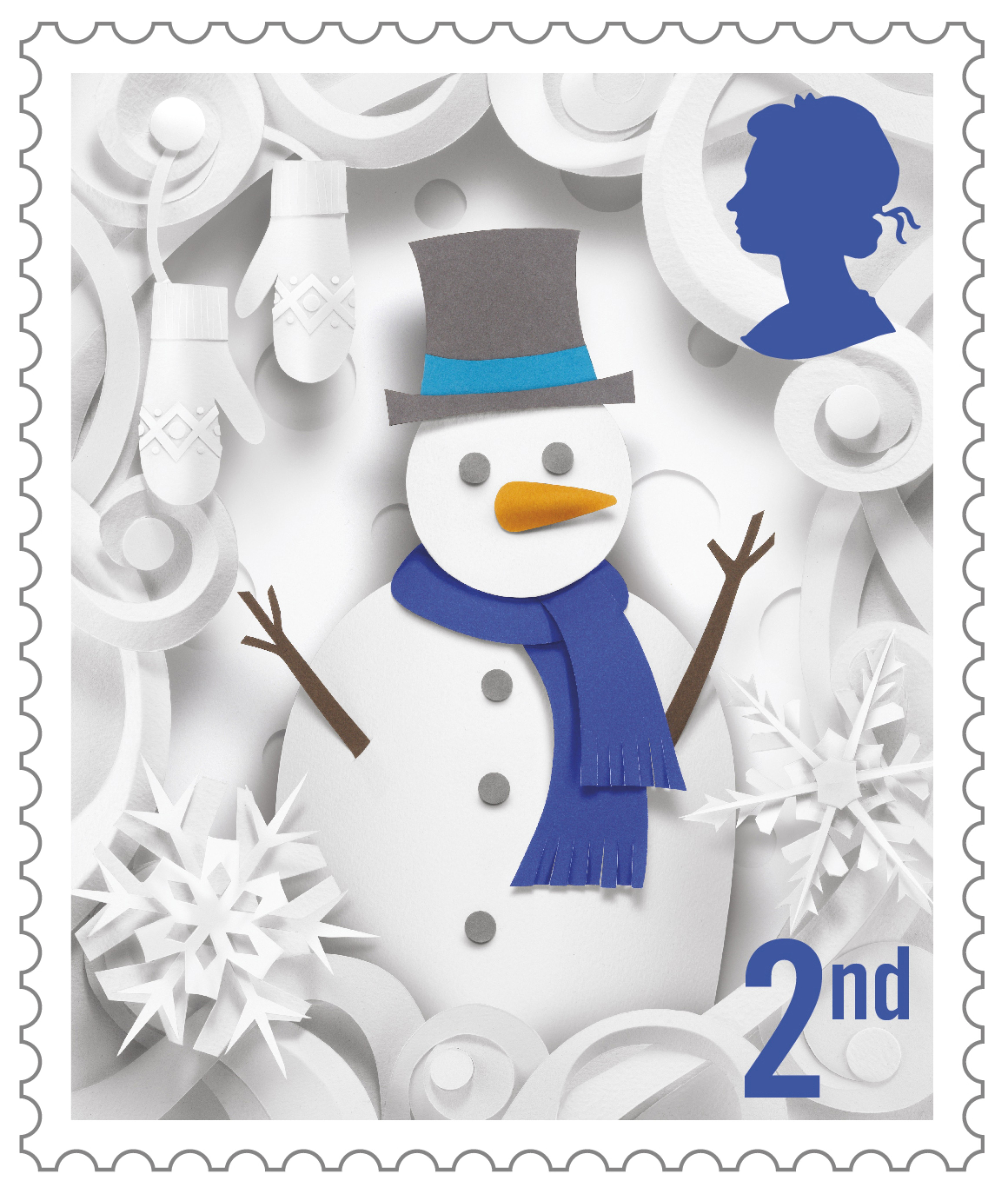 christmas-2016-2nd-class-400-stamp